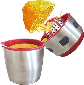 Manueller Frucht Zitronen Orangen Saftpresse Extraktor mit