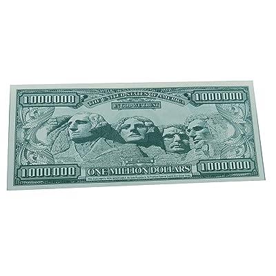 Loftus One Million Dollar 1 Per Package Bill: Toys & Games