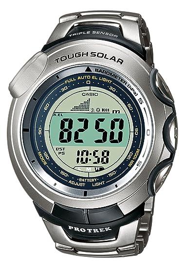 Casio PRG-120T-7VER - Reloj (Resina, Titanio, Mineral)