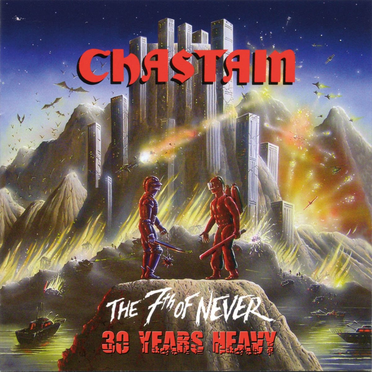 Vinilo : Chastain - 7th Of Never 30 Years Heavy (United Kingdom - Import)