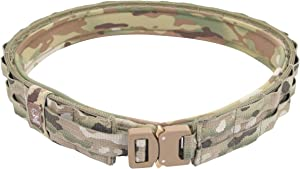 Grey Ghost Gear UGF Battle Belt with Padded Inner, Multicam, Small