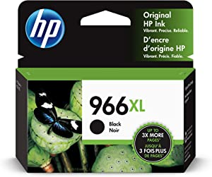 HP 966XL | Ink Cartridge | Black | 3JA04AN, Cyan (3JA04AN#140)