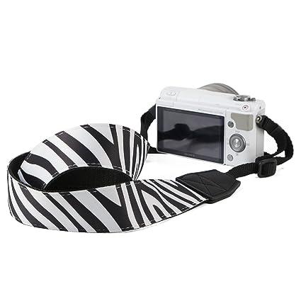 BIRUGEAR – cebra cámara réflex digital correa para el cuello ...