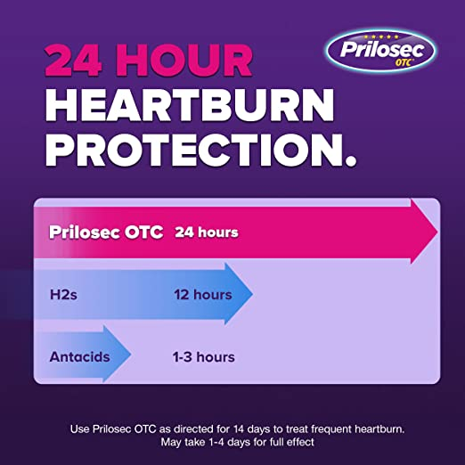 Amazon Prilosec Otc Wildberry Frequent Heartburn Medicine And