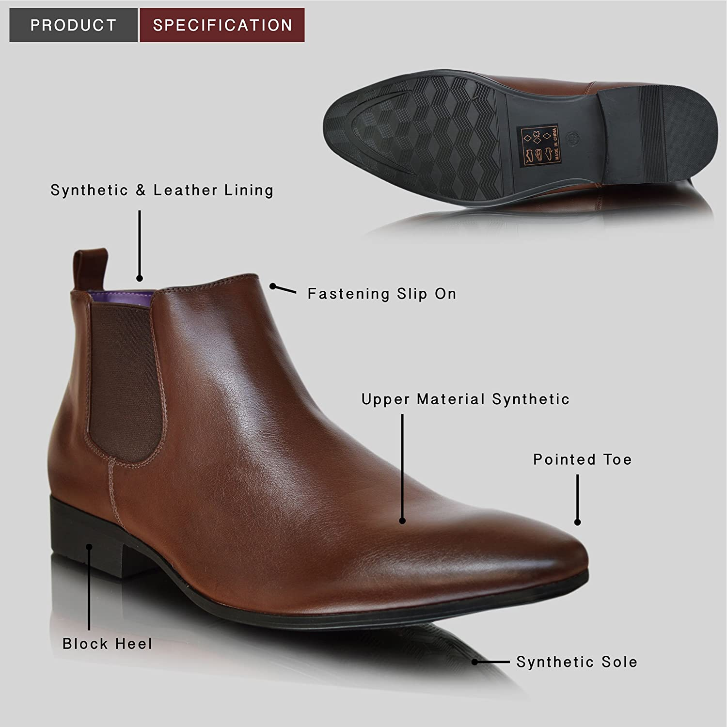 Men's Shoes New Arrival 2018 Winter Men Black Ankle Boots Pointed Toe All Match Fashion Casual Men Shoes Slip On Men Boots Easy To Repair Shoes