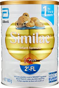 Abbott Similac 2'-FL Stage 1 Infant Milk Formula, 0-12 months , 1800g