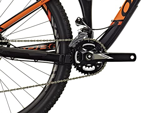 ORBEA occam TR H50 29 Black de Naranja 2016 MTB Fully Negro Negro ...