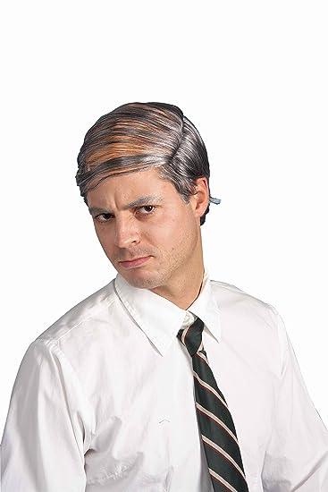 Forum Novelties Menu0027s Bald Man Comb Over Costume Wig Grey One Size  sc 1 st  Amazon.com & Amazon.com: Forum Novelties Menu0027s Bald Man Comb Over Costume Wig ...