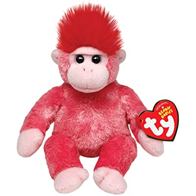 Ty Beanie Babies Charmer Gorilla Plush: Toys & Games