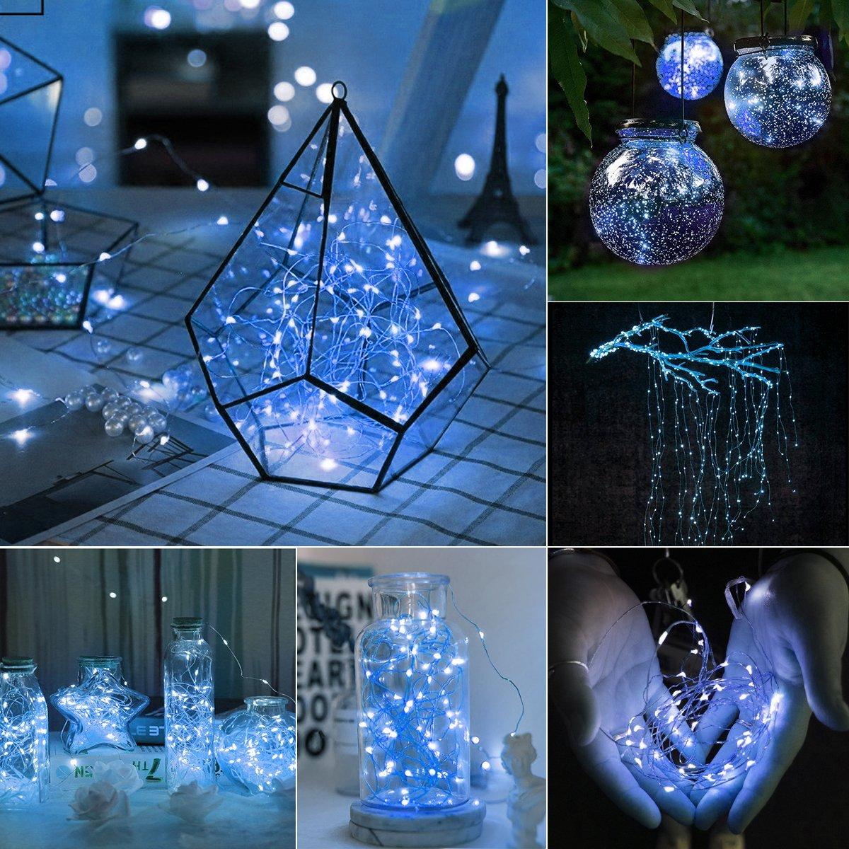 Amazon.com: innotree 3 Pack Fairy Lights, 8ft 20 LED String Lights ...