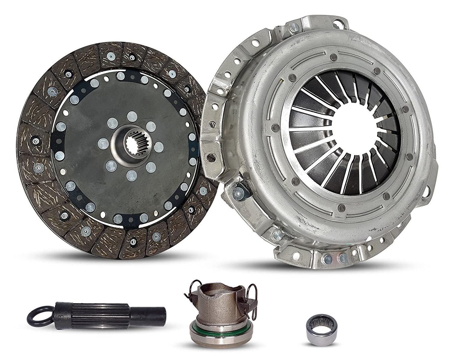 Clutch Kit Works With Jeep Liberty Sport Renegade Sport Utility 4-Door 2002-2004 2.4L L4 GAS DOHC Naturally Aspirated