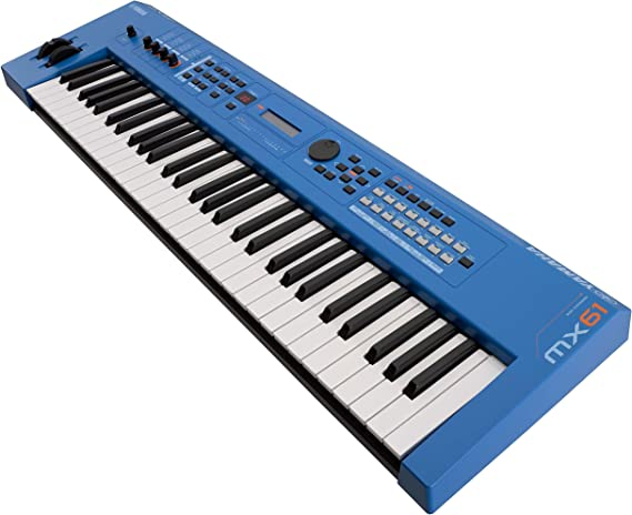 YAMAHA MX61II Blue Sintetizador: Amazon.es: Instrumentos ...