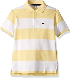 7447c731 Amazon.com: Lacoste Boys' Short Sleeve Classic Pique Polo ...