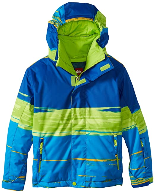 Amazon.com: Quiksilver Snow Big Boys Mission Youth chamarra ...