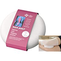 Patented Side Sleeping Knee Pillow Rophi Cushion (Patent Number 2433103), Trialed by UCLAN and Proven to Reduce Back Pain, Leg Sciatica Relief and Help a Slipped Disc. Leg Stocking Helps Stay In Place