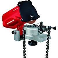 Einhell Afilador GC-CS 85 para cadenas de motosierra, 85 W, 220 - 240 V, color rojo y negro (ref. 4500089)