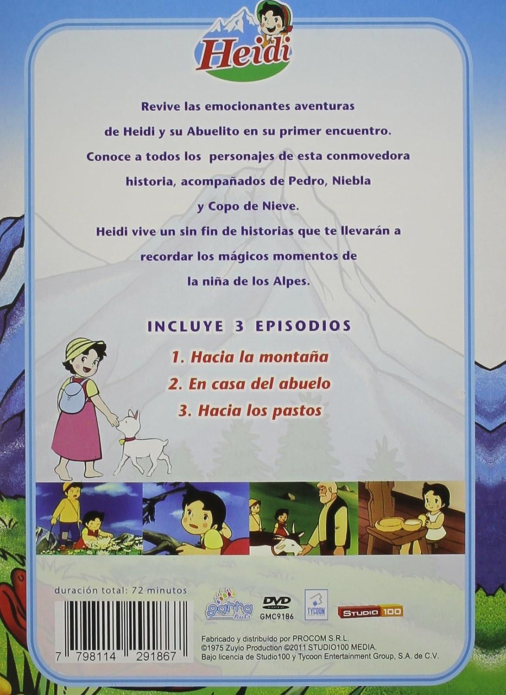 Vol. 1-Heidi-Hacia La Montana Edizione: Argentina USA DVD: Amazon.es: Heidi: Cine y Series TV