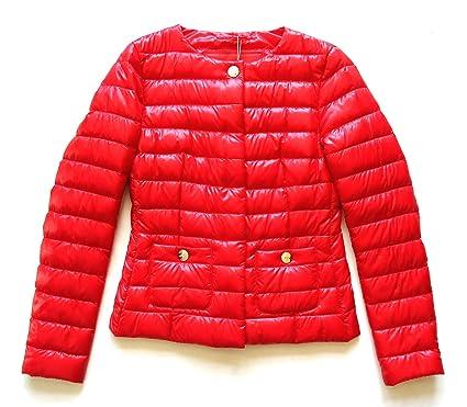 Herno Damen Daunenjacke Jacke rot rot 38: : Bekleidung