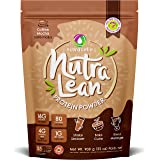 NUTRACELLE Nutralean Whey Protein for Women with Prebiotic Fiber to Help Feel Full - Coffee Mocha Protein Powder - 2 lbs Bag