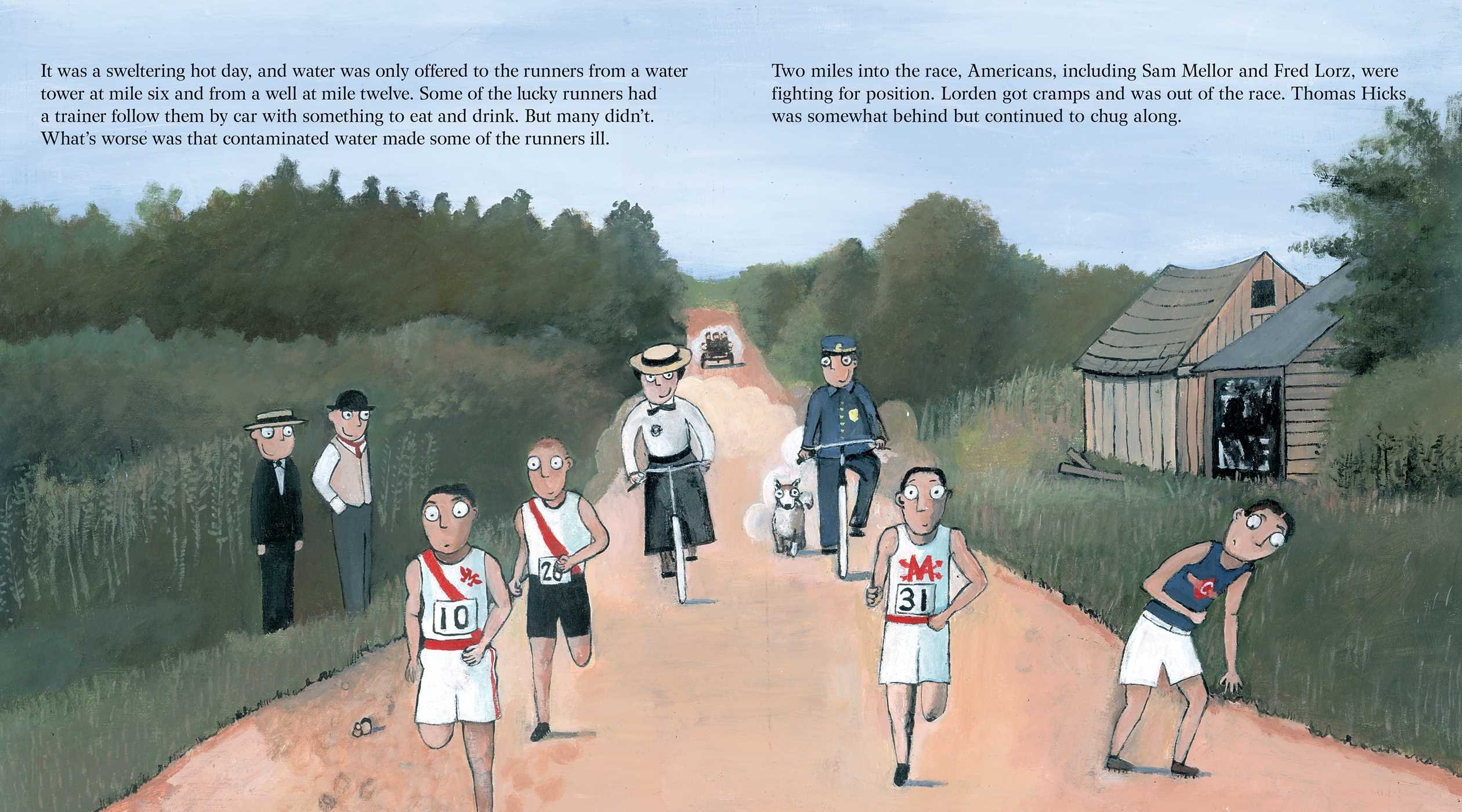 The Wildest Race Ever: The Story of the 1904 Olympic Marathon by Simon & Schuster/Paula Wiseman Books (Image #1)
