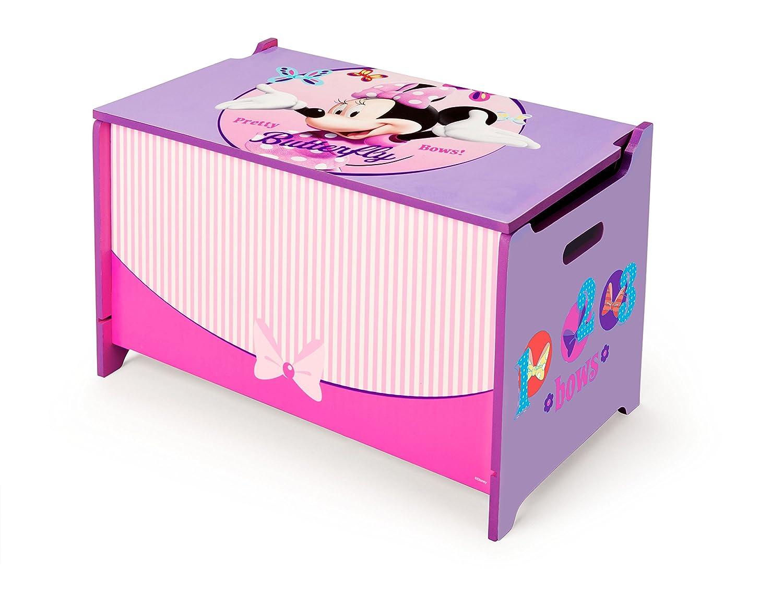 Scrivania In Legno Minnie Mouse : Delta children tb mn baule portagiochi per bambini minnie