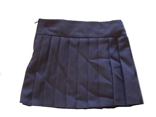Girls School Skirt Black Kilt Uniform 3 4 5 6 7 8 9 10 11 12 13 14 15 /& 16 Years
