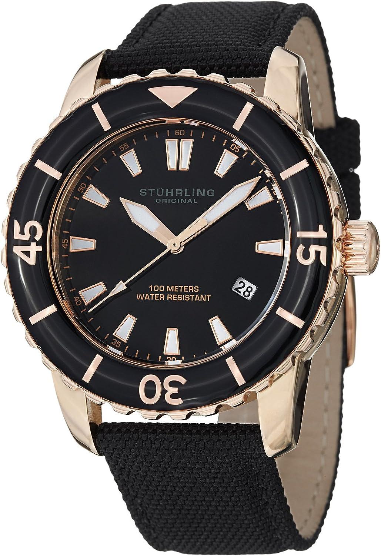 Stuhrling Original Men s 3266.01 Vector Date Black
