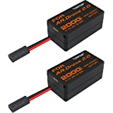 TURPOW 2 Pack Upgrade 2000mAh Lithium-Polymer Replacement Batteries for Parrot AR.Drone 2.0