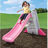 Step2 Big Folding Slide, Pink, Plastic Slide and High-Side Rails