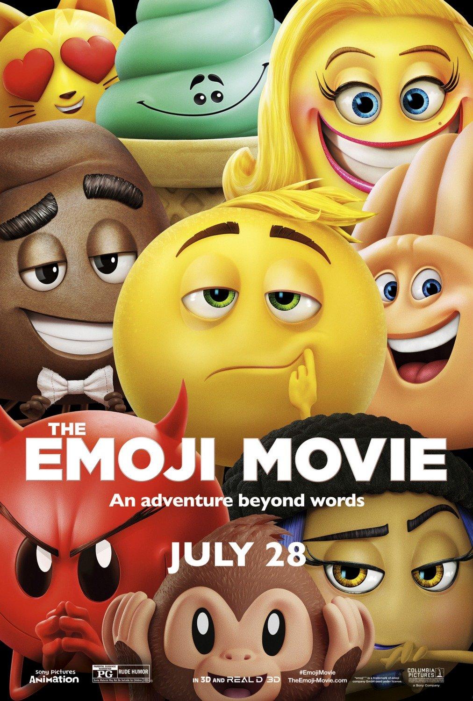 The Emoji Movie POSTER 11x17 Inch Promo Movie Poster