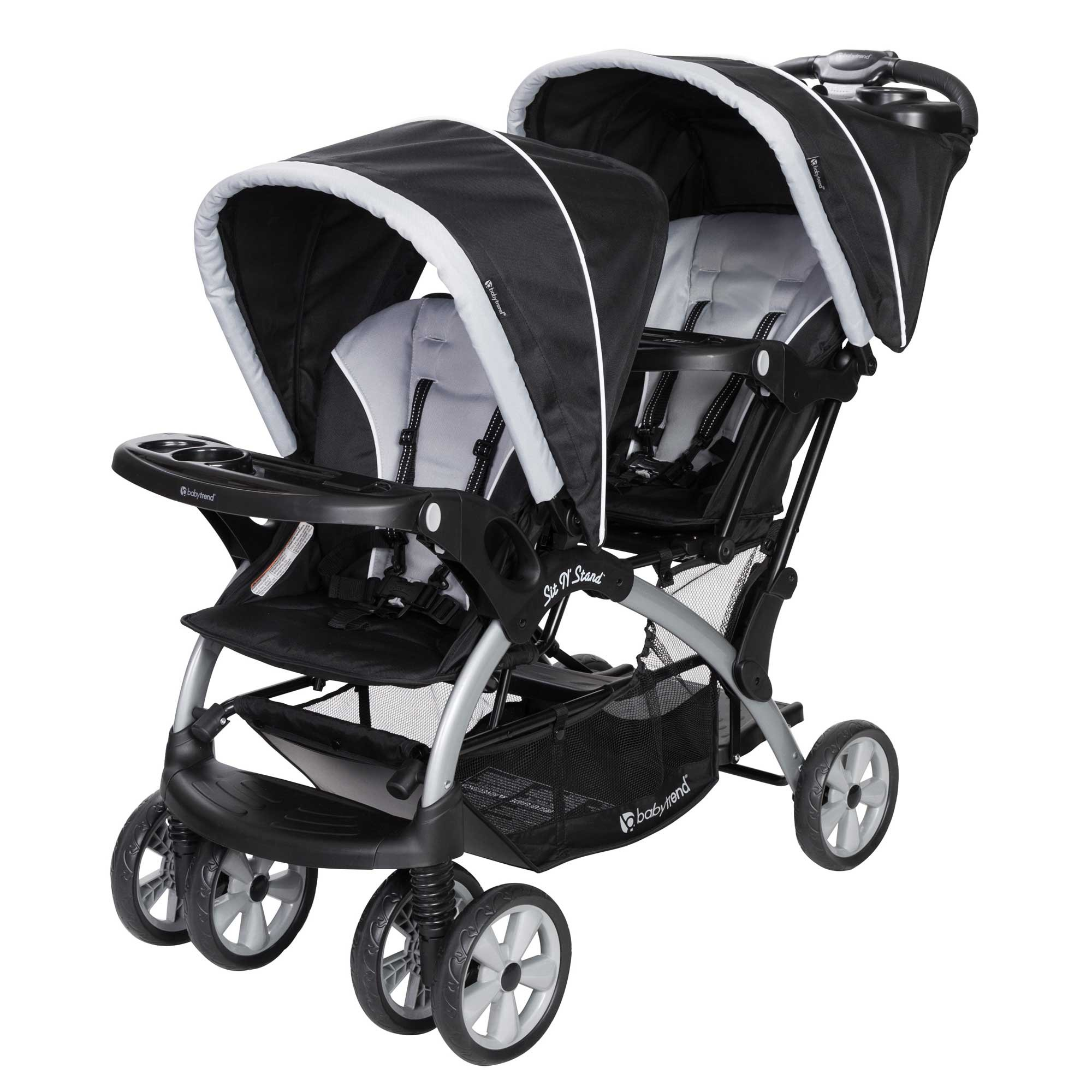 Baby Trend Sit N Stand Tandem Stroller Infant Car Seat