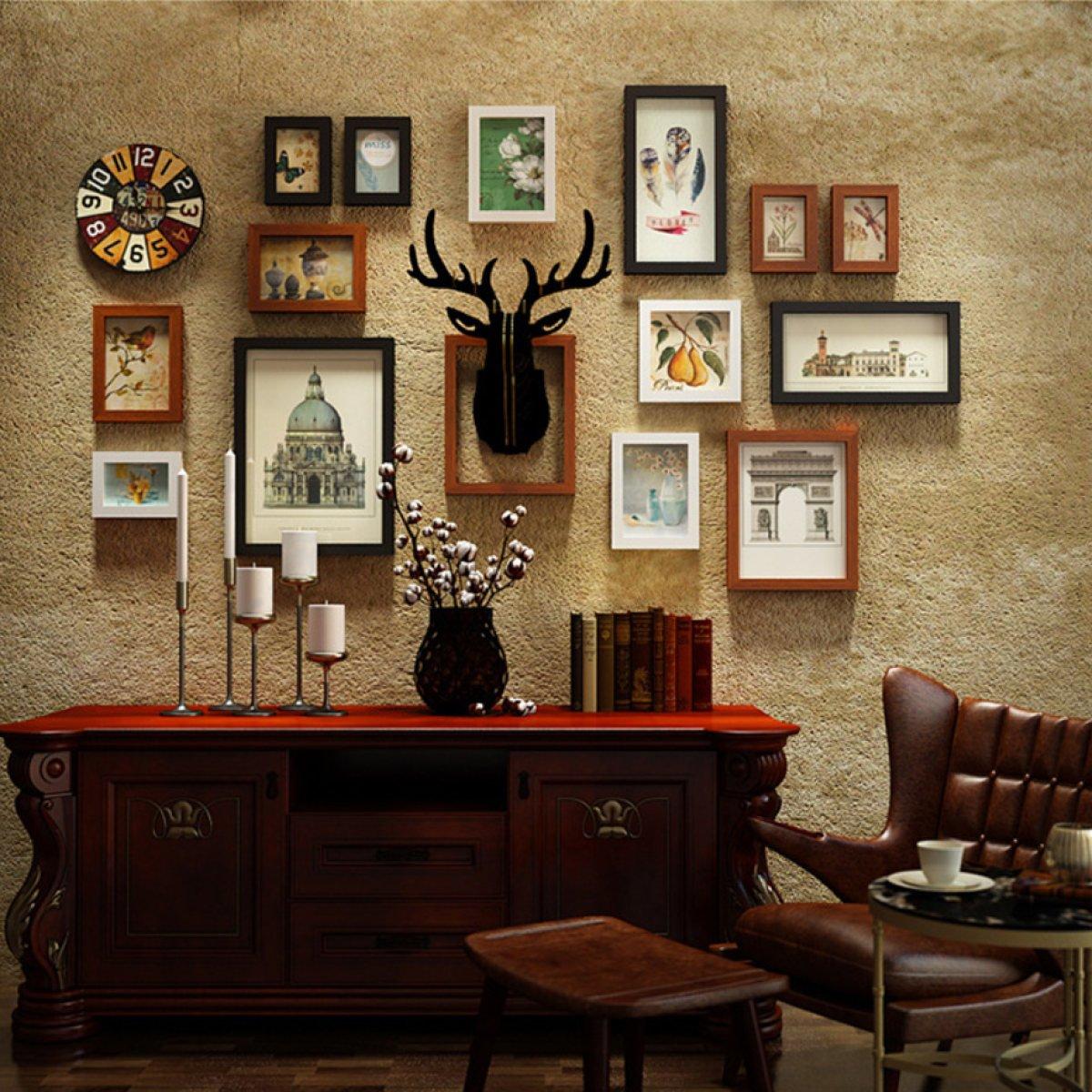 Amerikanischen Retro Foto Wandbehang Fotorahmen Wand Dekorative ...