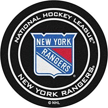 FANMATS NHL New York Rangers Nylon Face All-Star Rug