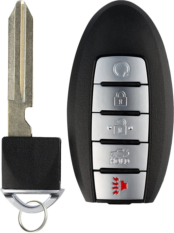 KeylessOption Keyless Entry Remote Car Smart Key Fob for Nissan Altima Maxima KR5S180144014