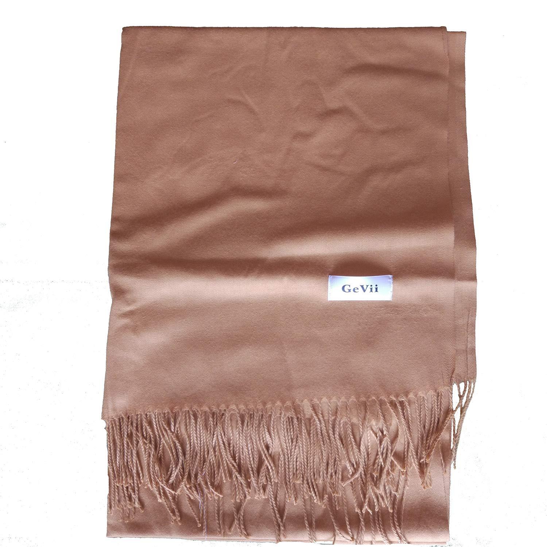 GeVii Ladies Gift Idea Scarf Fashion Warm Wrap Shawl Winter Stole for Women