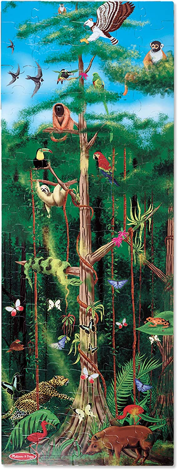 Melissa & Doug 100pc Floor Puzzle - Rainforest
