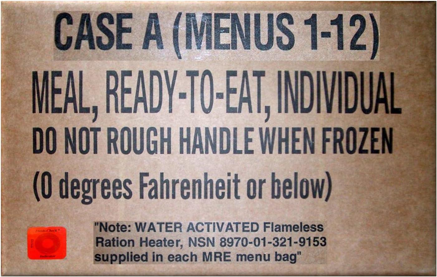 MRE Meals Ready to Eat - Comida preparada, raciones EE. UU., EPA ...