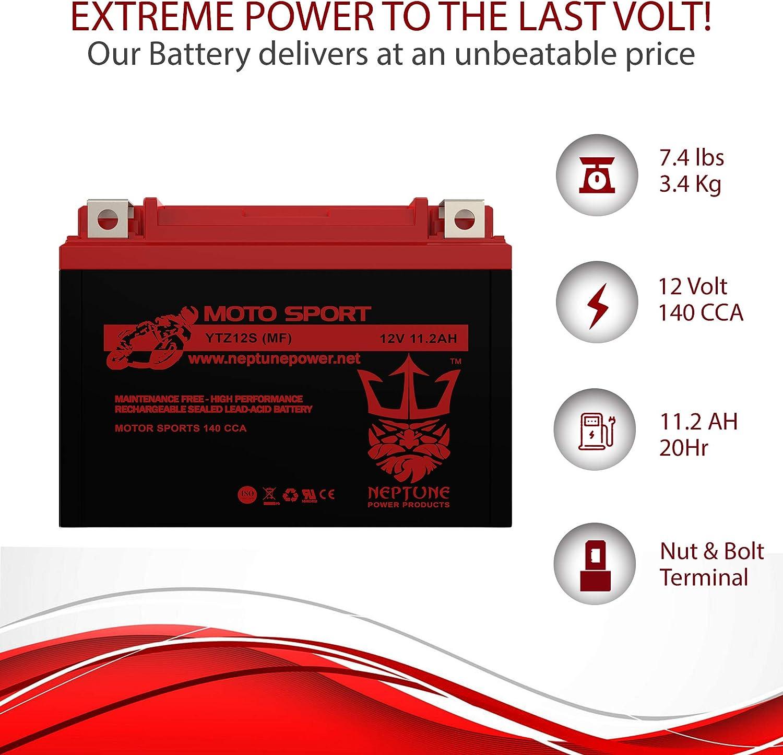 Lithium Ionen LiFePo4 Batterie YTZ12S 12V Honda NC 700 X 2012-2014 Bj
