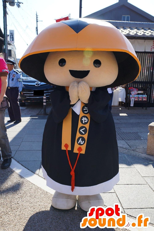 高野くんマスコット  SpotSound 、伝統的なドレスでアジア人
