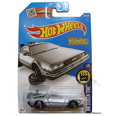 Hot Wheels, 2016 HW Screen Time, Back to the Future Time Machine - Hover Mode Die-Cast Vehicle #221/250: Toys & Games