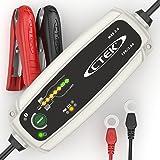 CTEK MXS 3.8 Vollautomatisches Ladegerät mit Countdown-Display (Ladung, Erhaltungsladung und Instandsetzung von Auto- und Motorradbatterien) 12V, 5 Amp – EU Stecker
