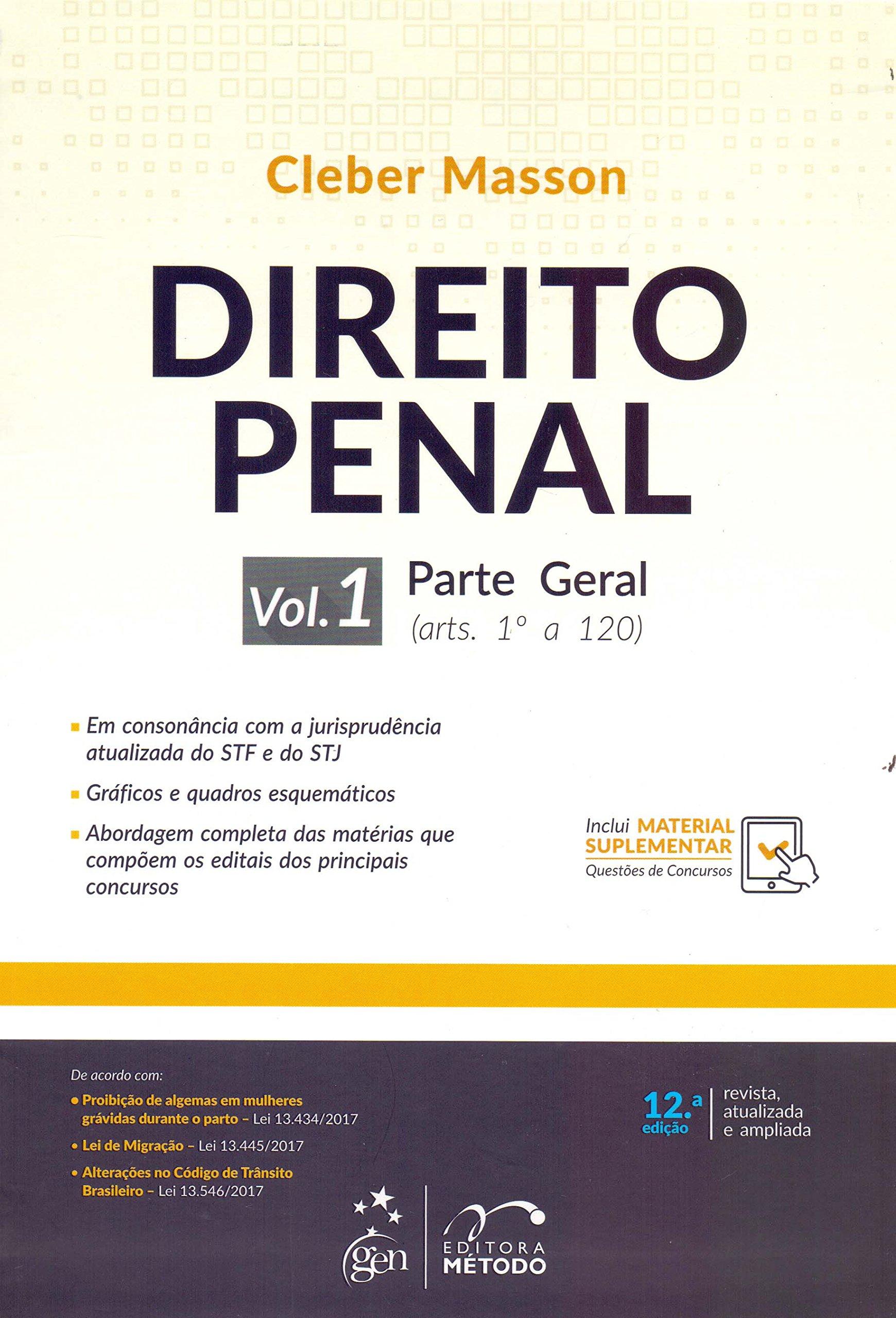 Download Direito Penal: Parte Geral (arts. 1º a 120) (Volume 1) pdf epub