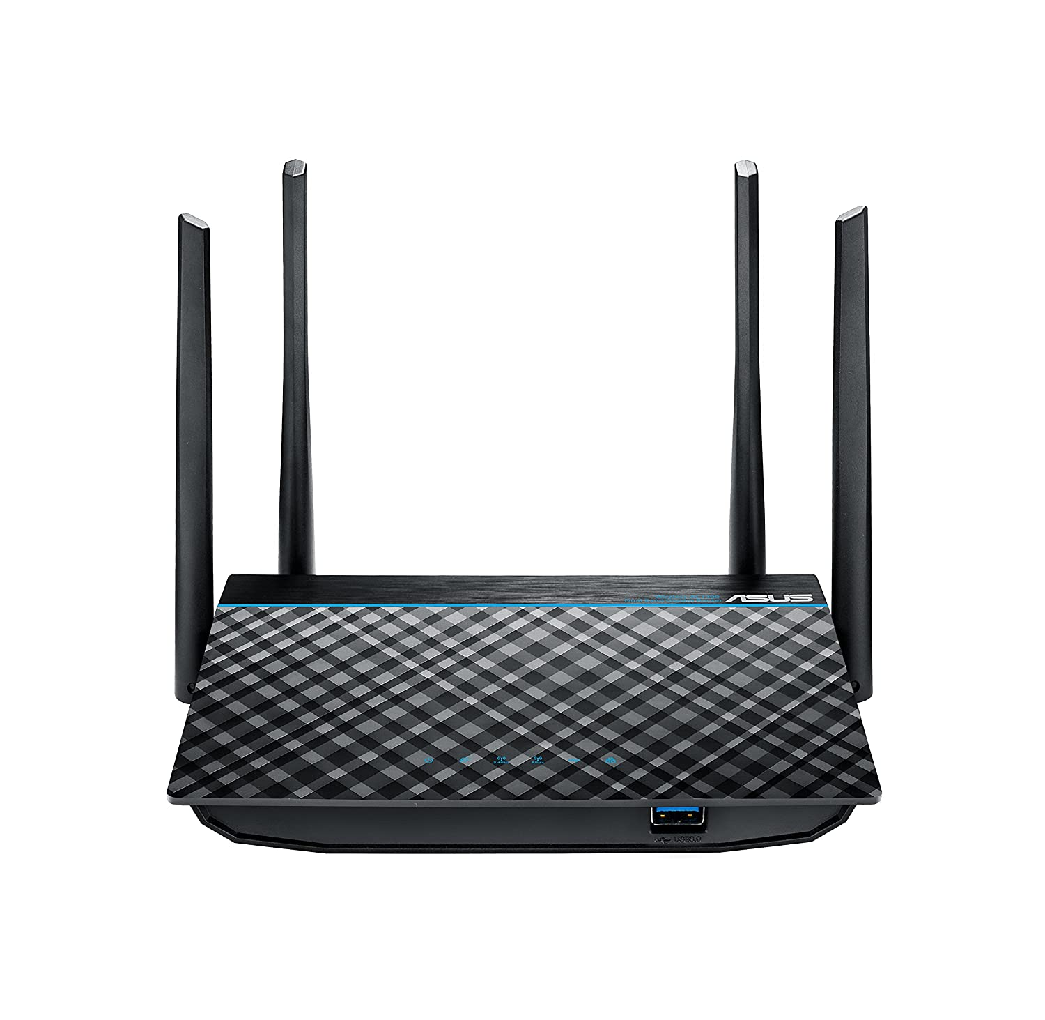 ASUS Dual-Band 2x2 AC1300 Super-Fast Wifi 4-port Gigabit Router with MU-MIMO and USB 3.0 (RT-ACRH13)