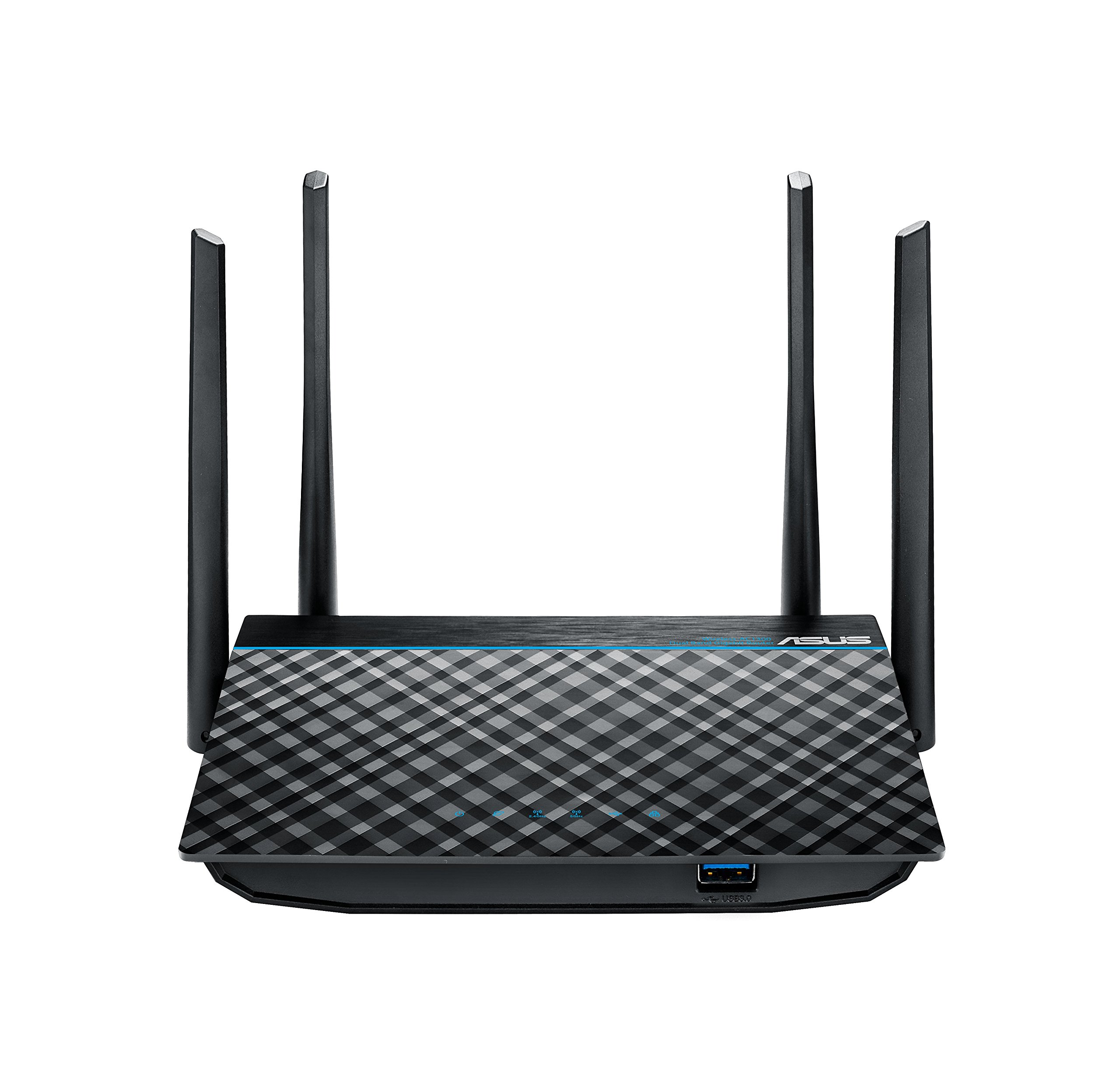 ASUS Dual-Band 2x2 AC1300 Super-Fast Wifi 4-port Gigabit Router with MU-MIMO and USB 3.0 (RT-ACRH13) by Asus