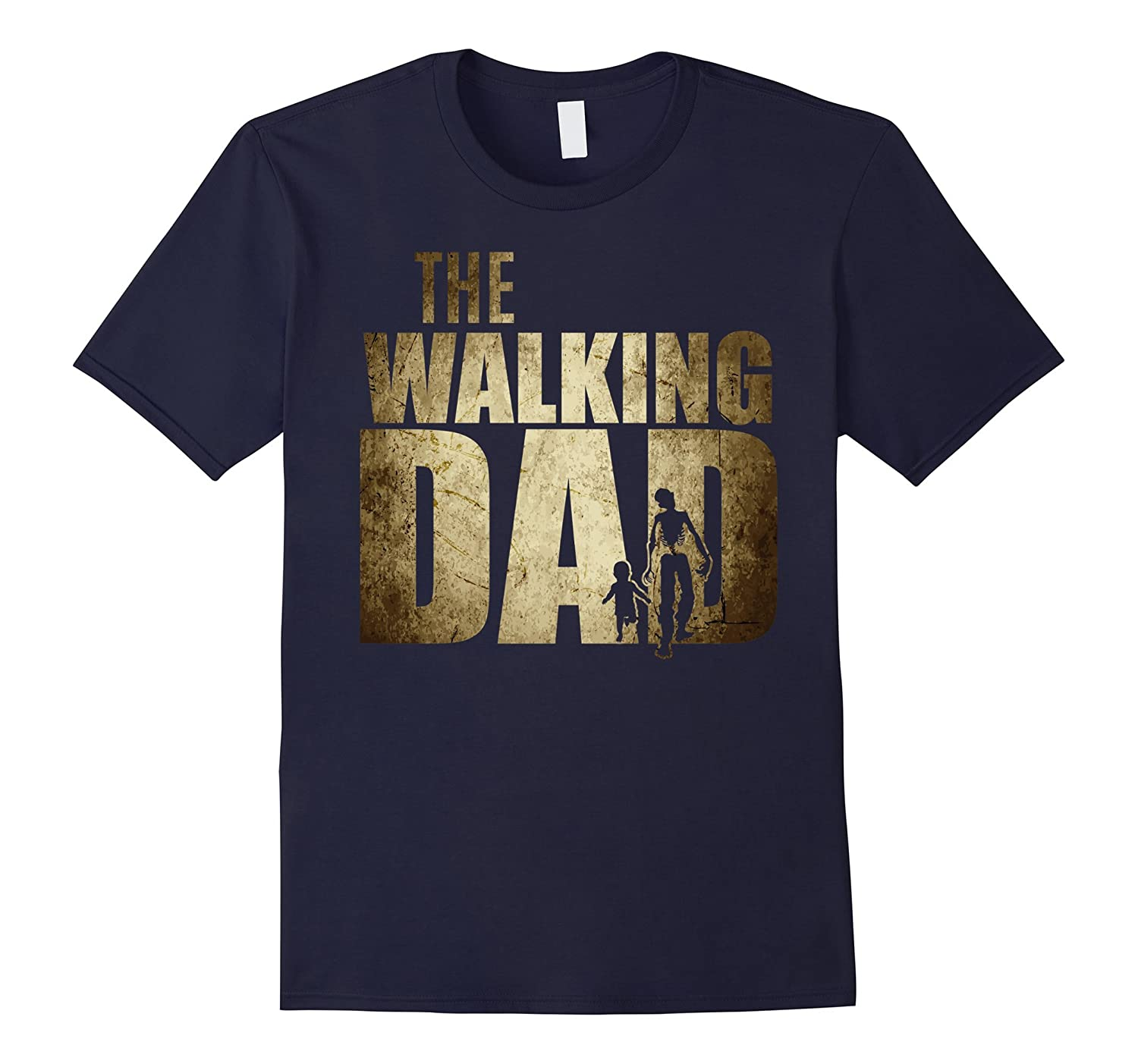 Walking Dad T-shirt Gift Fathers Day-TD