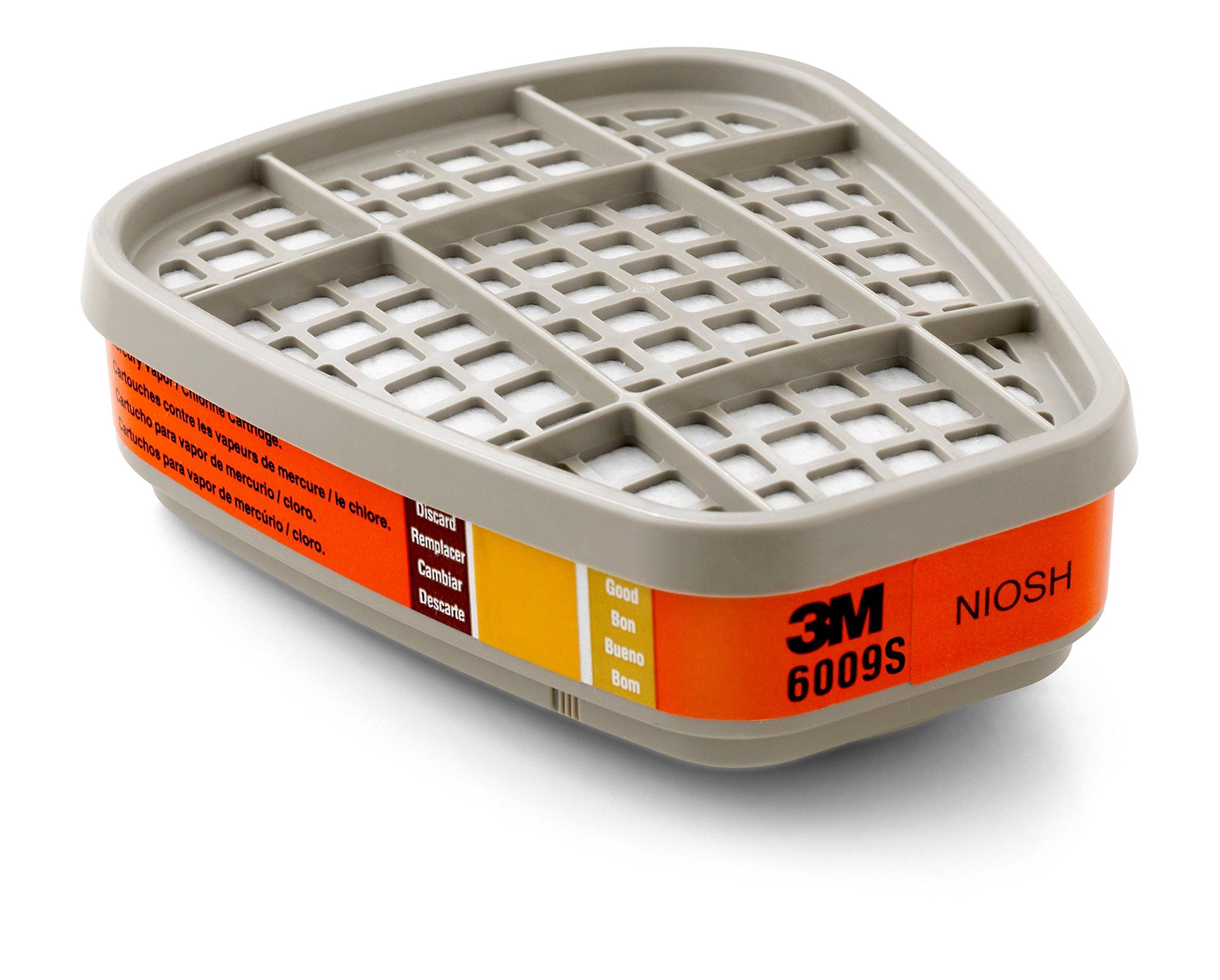 3M Orange Mercury Vapor/Chlorine/Sulfur Dioxide Ga