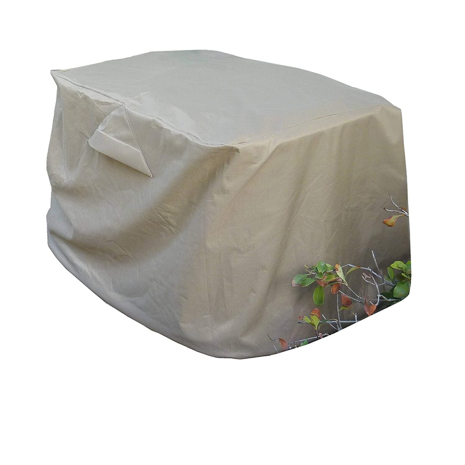 Extra large rectangular Air Conditioner Cover 38x36x38H - All Weather by Formosa Covers B00DX683XE