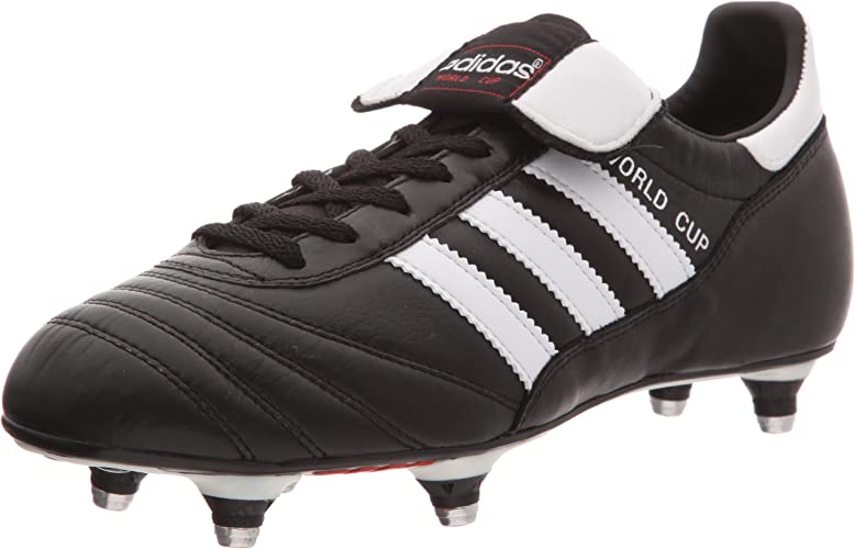 Adidas World Cup Chaussures de football Mixte Adulte Noir (BlackRunning White Footwear) 44 EU