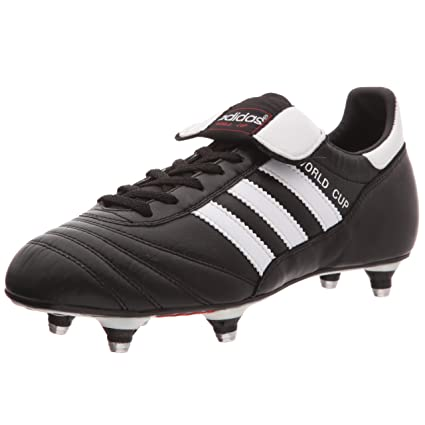 d37b5b73f adidas World Cup SG Football Boots - Youth - Black/White - UK 4.5