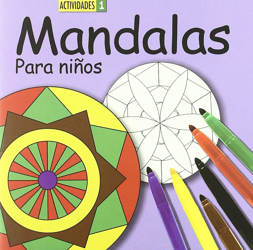 Mandalas Para Ninos 1 Libros Infantiles 9788492736744 Amazon Es